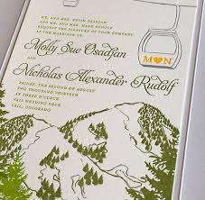 mountain wedding invitations cloud 9 wedding planners denver invitations wedding planning