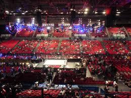 O2 Floor Seating Plan National Indoor Arena