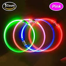 light up collar amazon amazon com bseen led dog collar usb rechargeable glowing pet dog