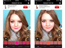 make up artist app i learned how to apply makeup using a futuristic new feature on