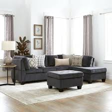 Black Fabric Sectional Sofas 3 Sofa Set 3 Fabric Sectional Sofa Set By Home
