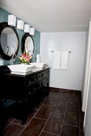 bathroom white cabinets dark floor grey blue bathroom white floor dark cabinets google search new