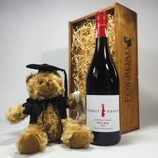 Graduation Gift Basket Graduation Gift Box Pinot Noir U0026 Bear Nz Delivery Fox Road