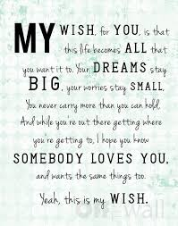my wish for you rascal flatts free acrostic poems for