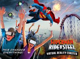 Six Flags Usa Maryland Superman Ride Of Steel U0027 Opens At Six Flags America Washington Times