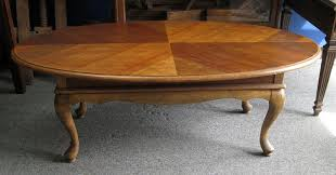 large vintage coffee table crofton piano