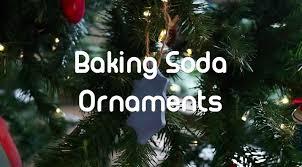 baking soda ornaments youtube