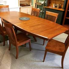 amish quartersawn white oak dining set 20 off sam s wood amish quartersawn white oak dining set 20 off