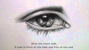 eye with tears drawing timelapse drawing shading a