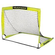 franklin blackhawk 4 u0027x3 u0027 pop up soccer goal target