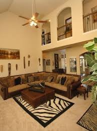 themed living room appealing safari themed living room with fanlight decor decorate