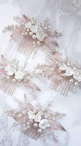 bridal hair combs best 25 wedding hair combs ideas on wedding hair