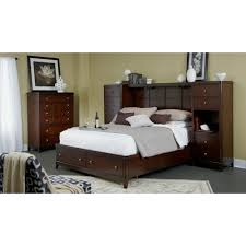 Lee Bedroom Furniture Folio 21 Edenfield Queen Wall Storage Bed With 2 Pier Chests