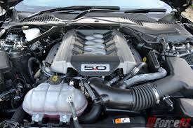 2016 ford mustang gt fastback engine bay forcegt com