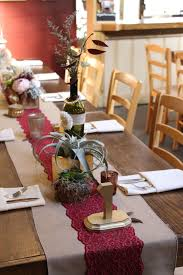 forest green table linens this wedding had shades of merlot peach sage forest green and