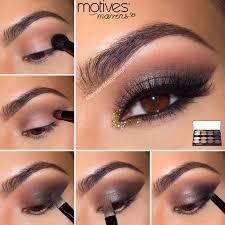 eyeshadow tutorial for brown skin smokey eye makeup for brown eyes face makeup ideas