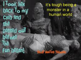 Monster Meme - ghost hunting theories monster memes