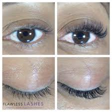 volume eyelash extensions by flawless lashes yelp
