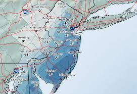 us weather map forecast today n j s weekend snow forecast just got worse up to 6 inches