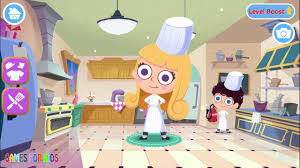 chef sibling french restaurant educational videos games for kids
