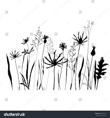 wild flowers in wild meadows vector seamless pattern wild meadow flowers stock vector 581876182