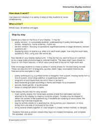 gcse revision planner template creative revision teachit english 3 preview