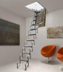 aluminum folding stairs pantograph escaliers l u0027echelle européenne