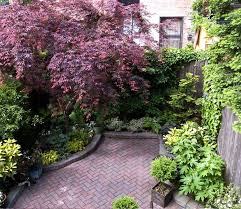 garden ideas for small backyards townhouse gardens by robert urban
