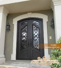 custom and decorative front entry doors abby iron doors