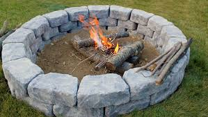 Building A Firepit Building Your Own Outdoor Pit