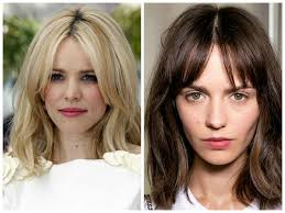 hairstyles with bangs and middle part the best hairstyles with center part hair world magazine