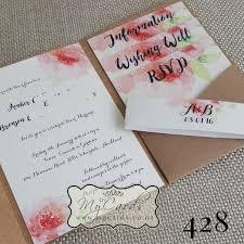 wedding inserts a6 pocketfold blue matt mycards wedding invitations