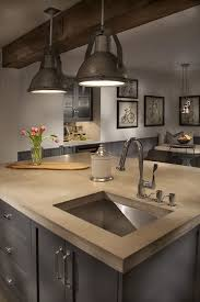 Kitchen Counter Top Design by Best 25 Concrete Kitchen Countertops Ideas On Pinterest Farm