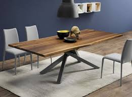 Table Verre Pied Central by Table De Reunion Bois Epoxia Mobilier