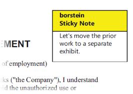 printing sticky notes on a pdf
