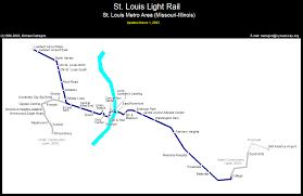 stl metro map nycsubway org st louis missouri
