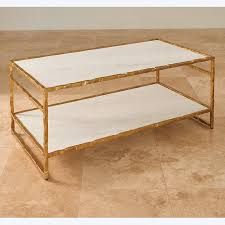 global views coffee table global views products sculpted cocktail table gold