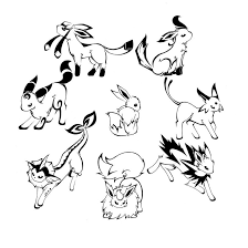 pokemon coloring pages google search pokemon coloring pages eevee evolutions together best of pokemon