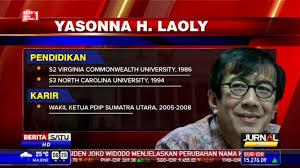 profil jokowi dan jk biodata yanonna laoly menteri hukum dan ham kabinet jokowi jk