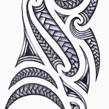 latest tribal wave tattoo design photo 6 2017 real photo