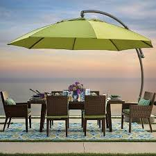 Patterned Patio Umbrellas Dine Under The Sun In Comfort With The Extraordinary European Side