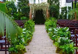 outdoor wedding venues in michigan michigan wedding venue planterra conservatory