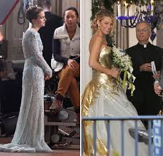 blair wedding dress gossip wedding dress reveals blair serena wedding dresses