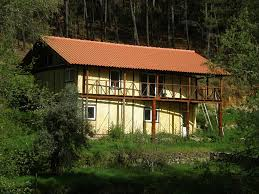 Low Cost Home Building Straw Bale Houses In Portugal