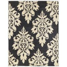 area rugs home decorators home decorators collection meadow damask blue 7 ft 10 in x 10 ft