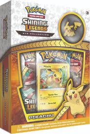 pokemon cards tins 2016 prior toys pokemon shining legends pin collection box pikachu