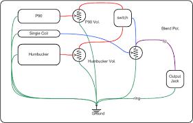 les paul guitar wiring diagram master with volume les paul copy