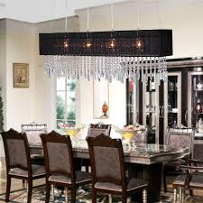 Dining Room Chandeliers Ideas Best Rectangular Dining Room Chandelier Dining Room Crystal