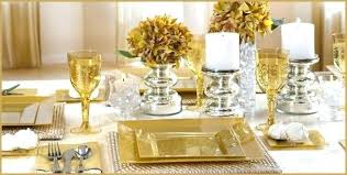 black white and silver decorations for a outstanding gold and