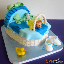 baby carriage cake blue and white baby carriage cake cmny cakes